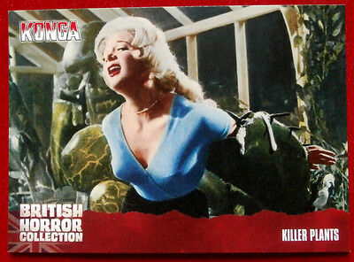 BRITISH HORROR COLLECTION - Konga! - KILLER PLANTS - Card #63