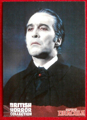 CHRISTOPHER LEE - BRITISH HORROR COLLECTION - Promo Card - B2 - Unstoppable 2016