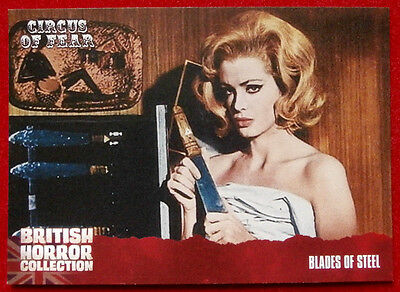 BRITISH HORROR COLLECTION - Circus of Fear - BLADES OF STEEL - Card #89