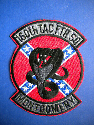 160TH TACTICAL FIGHTER Squadron Alabama Air National Guard USAF Patch