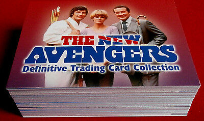THE NEW AVENGERS: DEFINITIVE COLLECTION - COMPLETE BASE SET - Strictly Ink 2006