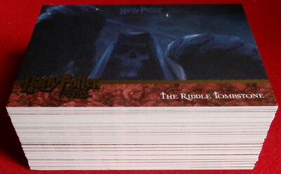HARRY POTTER AND THE GOBLET OF FIRE - COLLECTOR'S UPDATE SET- 90 cards, ARTBOX