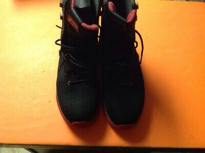 e6517a570afd Nike Air Jordan Future Boots Shoes Black Red Bred Size 9.5 854554-001 Free  Ship