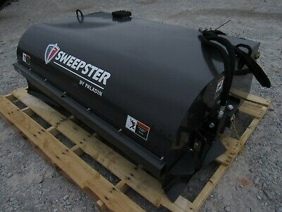 """2019 72"""" Sweepster Pick Up Box Sweeper Broom Skid Steer Attachment  - Ship $199"""
