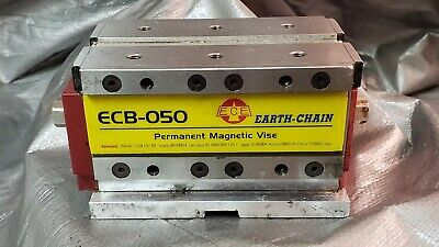 """EARTH-CHAIN ECB-050 5"""" x 3"""" x 3"""" MagVise PERMANENT MAGNETIC VISE for CNC MILL"""
