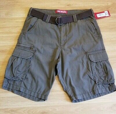 68d6841d46 Lee Men's Dungarees Belted Wyoming Cargo Military Shorts Size 34 Waist NWT