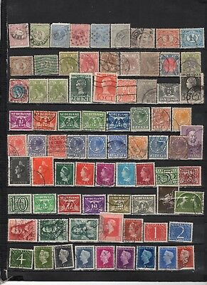 Netherlands -  Lot Of Early Used  Stamps (NETH1)