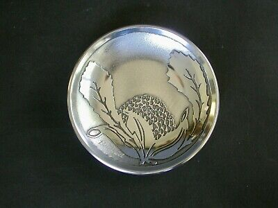 Small  Don Sheil Dish With Waratha Pattern Anodised Aluminium  Melbourne