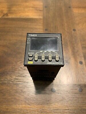 OMRON H5CX-A11D AC, Panel Mount Timer, P3GA-11 Extra