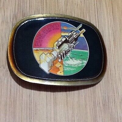 Vintage Pacifica Belt Buckle, Pink Floyd, Wish You Were Here, 1976 Near Mint