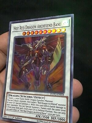 HOT RED DRAGON ARCHFIEND BANE | Ultra Rare | DUPO-EN042 Duel Power YuGiOh