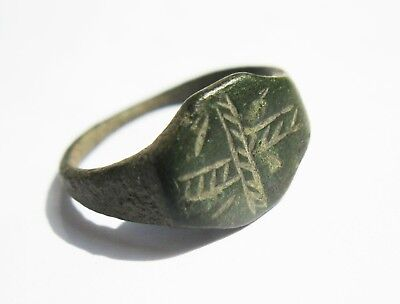 ANCIENT Medieval Ring BRONZE