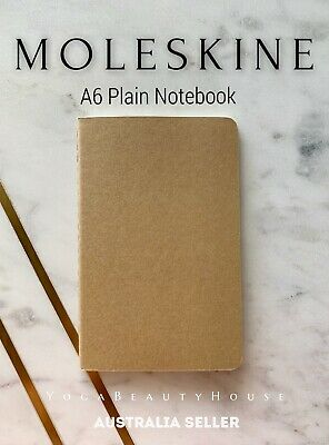 Moleskine Cahiers Plain / Blank Notebook Journal (note book pad lined dot square