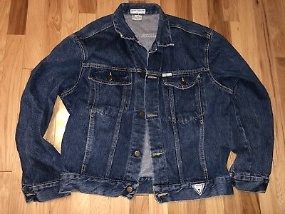 Guess Jeans Jacket Made in USA George Marciano Medium Size