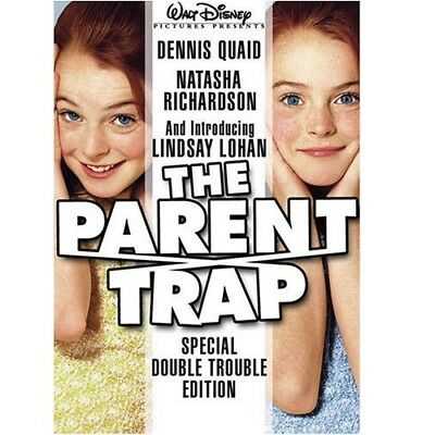 Disney's The Parent Trap Special Double Trouble Edition DVD Lindsay Lohan NEW