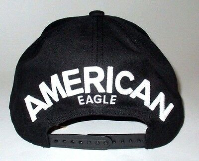 031348fba MENS AMERICAN EAGLE Hat Snapback Adjustable Cap One Size New Ae ...