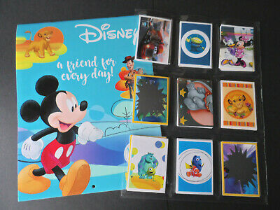 Panini Disney A Friend For Every Day Complete 180 Sticker Set & Album
