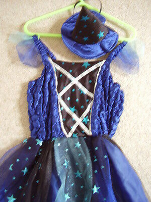 Girls blue dress,Christmas party-special occasion,3-4 years,George,new,with hat