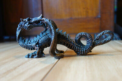 Bronze Detailed Vintage Dragon with some Original Patina