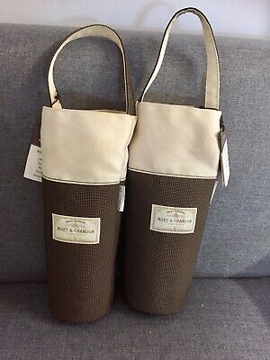 2 x Moet Chandon Champagne Cooler Bags