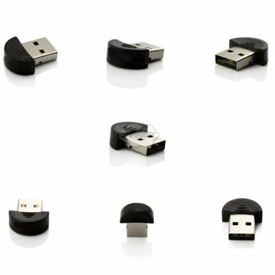 Wireless Bluetooth USB 2.0 Dongle Reciever Adapter Connector For PC Laptop
