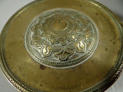 Old Chinese Cast Brass Container Antique