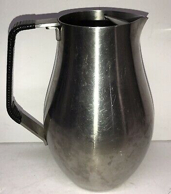 VIKING Reed & Barton 18/8 Stainless Steel ice-lip WATER PITCHER BL1A