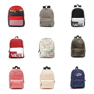 aa25aeee92 New Authentic Vans Realm Backpack Student School Bag All Colors NWT תיקי  ואנס