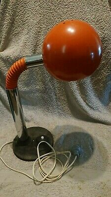 VINTAGE 1960's 1970's EYEBALL LAMP RETRO COLOUR AND DESIGN VERY RARE