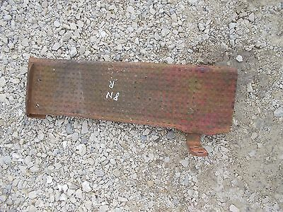 Ford 8N tractor 8 N Original right foot step rest platform & bracket to mount