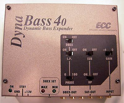 Processore Car Audio ECC Dynabass 40 dynamic bass extender