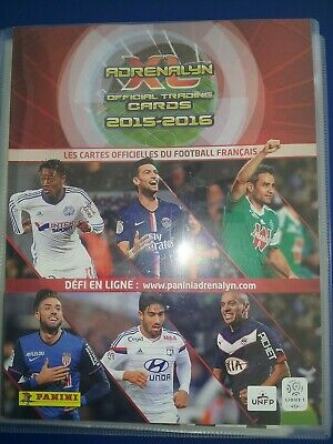 Panini Adrenalyn Xl Ligue 1 2015/2016 Complet + Update + Classeur + 14 Limited