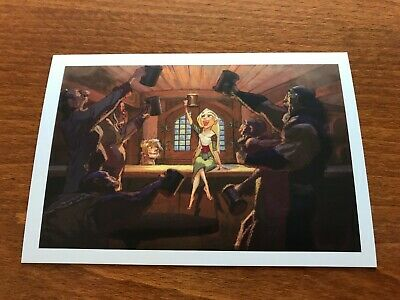 The Art of Disney Princesses Themed Postcard - Tangled #8 - NEW