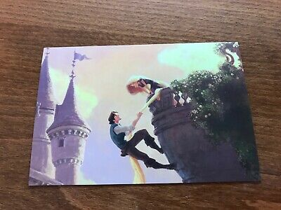 The Art of Disney Princesses Themed Postcard - Tangled #9 - NEW