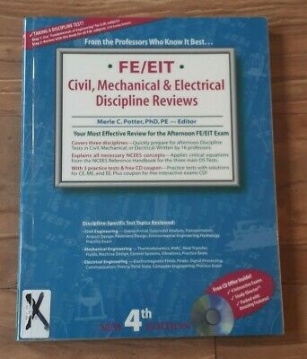 FE CIVIL REVIEW AND Practice by Michael R  Lindeburg NEWEST Editions