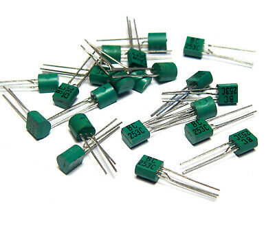 20x Transistor 2N4123 TO-92 mit Farb-Code alte National Produktion NOS
