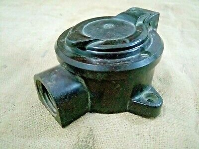 Old vintage Bakelite Electronic Pin Holder With Cover Decorative Switch