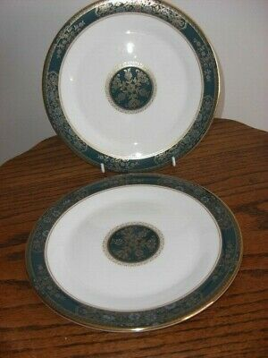 """2 X Royal Doulton Carlyle 8"""" Side/salad Plates"""