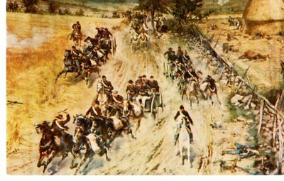 Military The Civil War, Battle of Gettysburg Union Light Artillary- Postcard