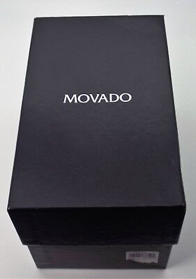 Authentic Movado Museum  Box Only Outer Box Papers Very Good Condition