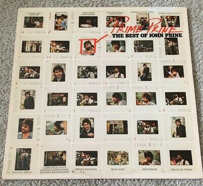 Prime Prine THE BEST OF JOHN PRINE 1976 lp Atlantic SD 18202 stereo VG+
