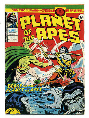 Planet of the Apes #85 (Marvel UK 1976; high grade copy)