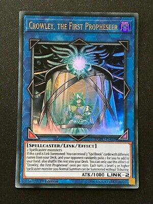Yugioh Duel Power: Crowley, the First Prophesseer DUPO-EN028 - Ultra Rare