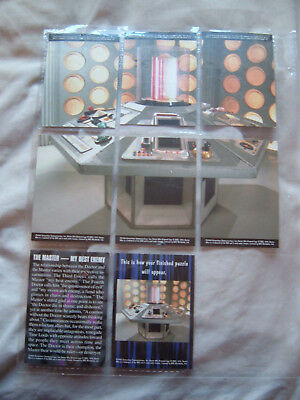 Doctor who Cornerstone Tardis puzzle chase card set including The Master series3