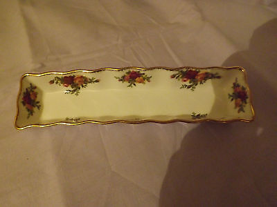 Royal Albert Old country roses pen/mint tray   1st