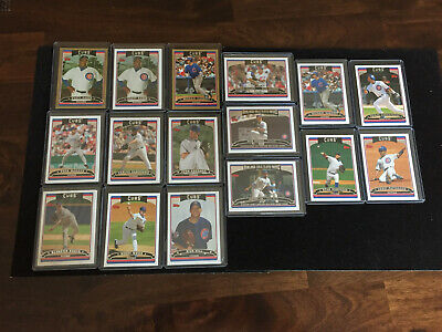 2006 Topps Lot of 27 Chicago Cubs: Maddux, Barrett, GOLD Serial, Rich Hill RC