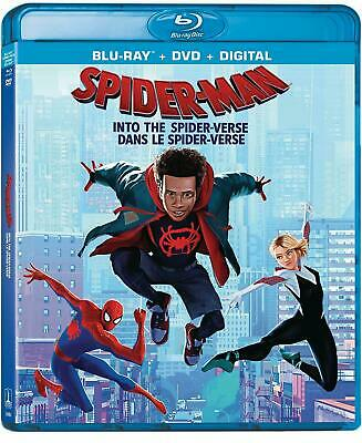Spider-Man: Into The Spider-Verse Blu-ray DVD And Digital Brand NEW