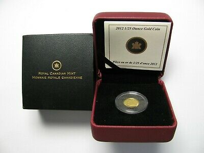 2012 Proof 50 cents GML #9-Bluenose 1/25oz .9999 gold Canada fifty