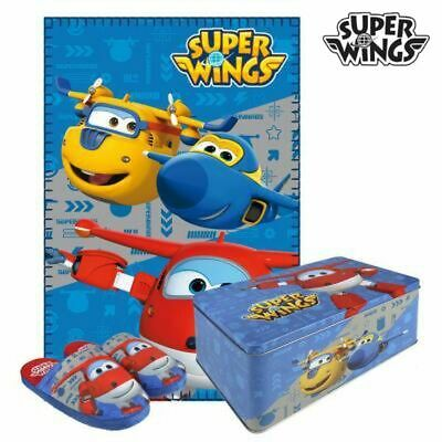 Caja Metálica con Manta y Zapatillas Super Wings 70793 (3 pcs) 3 pcs
