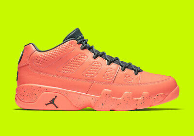 8dc5e1aa5d2773 Nike Air Jordan 9 IX Low Bright Mango Hasta Ghost Green 832822-805 Mens 15
